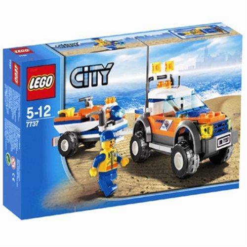 【レゴ (LEGO) シティ 4WDトラックとジェットスクーター  7737】     b0013v2ux0