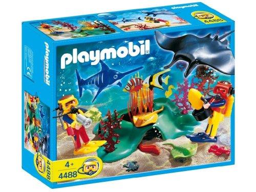 【PLAYMOBIL (プレイモービル) Divers In Tropical Reef(並行輸入品)】     b0014bn894