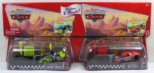 【Disney Pixar Cars Trunk Fresh and No Stall Pit Race-Off 2 Pack】     b001dtpcb4