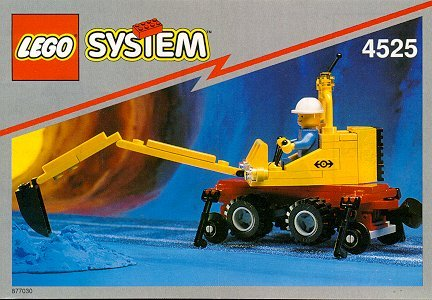 【Lego System 4525 Road N' Rail Maintenance and Repair Set】     b0010ki0f6