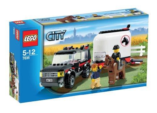 【レゴ (LEGO) シティ レゴ (LEGO)の町 ホーストレーラー付きの4WD  7635】     b001cqps0s