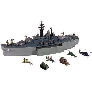 【Giant USS Battleship】