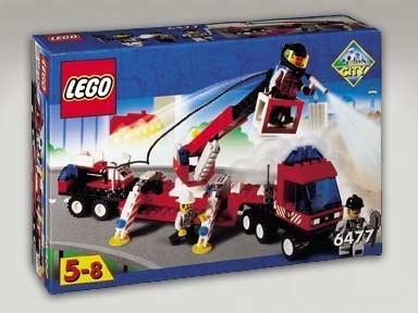 【Lego Fire Fighters' Lift Truck 6477】     b001qxo23g