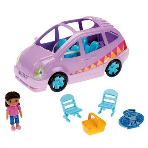 【Fisher Price Dora Picnic Adventure Van】     b002as9no4