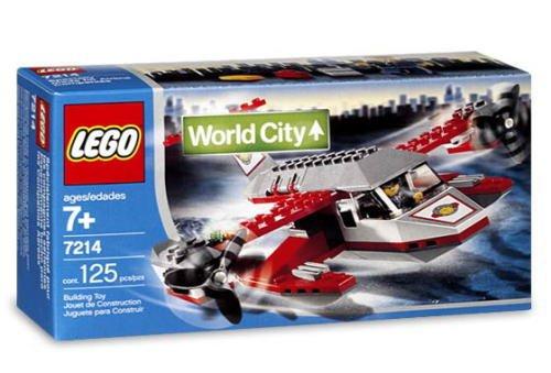 【レゴ ワールドシティ 水上機 7214 Sea Plane】