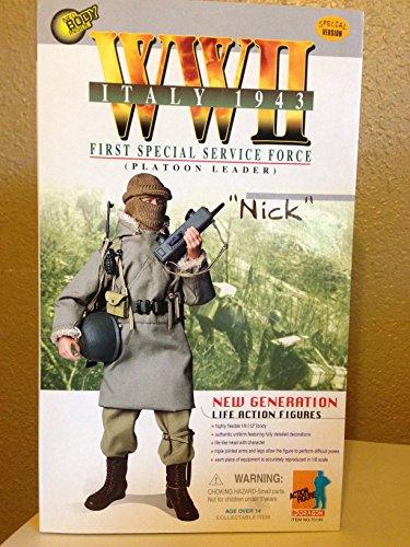 【1/6 Dragon Models Italy 1943 First Special Force-Platoon Leader  Nick 】     b002jbwu06