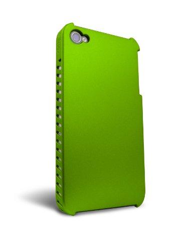 【送料無料】【iFrogz iPhone4 用ハードケース LUXE LEAN iPhone 4 サイドスリット グリーン IP4GLL-GRN Designed in USA】     b003ylwbfe