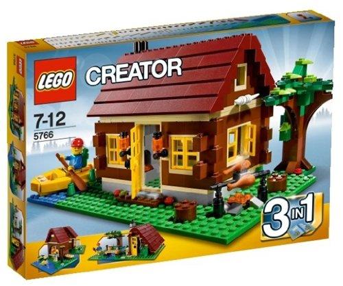 【送料無料】【レゴ (LEGO) クリエイター・ログハウス 5766】     b0042hotxq