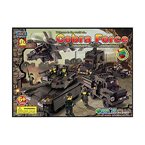 【送料無料】【[オックスフォード]Oxford Cobra Military II Series Special Forces 1005 Piece Building Block Set LYSB004DK7BBY-TOYS [並行輸入品]】     b004dk7bby