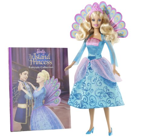 【送料無料】【バービーBarbie as the Island Princess Book and Doll Gift Set 輸入品 T7596】     b0043vriac