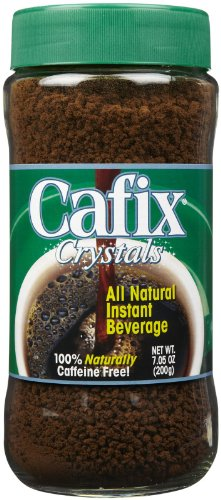 【Cafix  All Natural Instant Beverage Crystals  Caffeine Free  7.05 oz (200 g)】     b0046r2wls