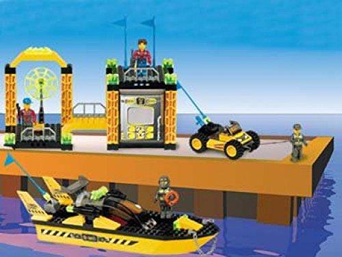 【送料無料】【LEGO Jack Stone Res-Q Super Station. Model 4610***RARE***】     b004b50q68
