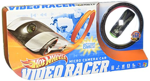 【Hot Wheels Micro Camera Car Video Racer in Black & Green】     b004u5fxhg