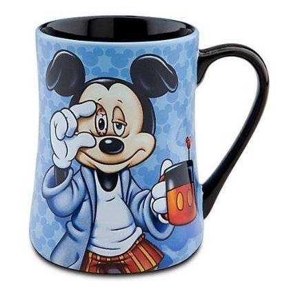 【Mickey Some Mornings Are Rough Coffee Mug by Disney】     b004imx2ho