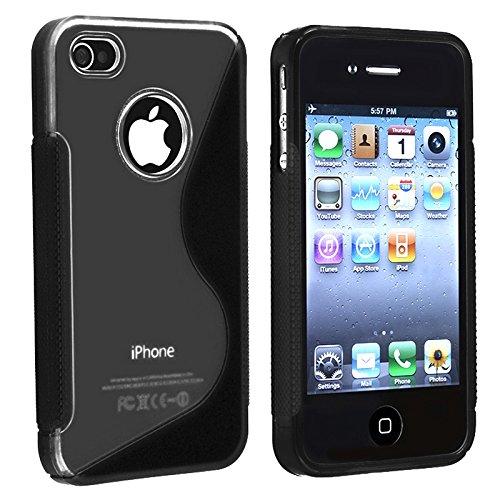 【送料無料】【For Apple iPhone 4S/iPhone 4 S-Line Hybrid Case (Black) by Unknown】     b004iewxsg