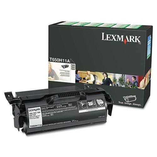 【T650H11A High Yield Return Program Black Toner Cartridge by Lexmark】     b0057x1lnk
