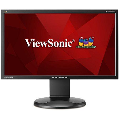 【ViewSonic VG2228wm-LED - LED monitor - 22 - 1920 x 1080 Full HD - 250 cd/m2 - 1000:1 - 5 ms - DVI-D  VGA - speakers - black】     b006ddgiwm