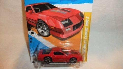 【送料無料】【Hot Wheels 2012-022 New Models 1985 Chevrolet Camaro IROC-Z RED 1:64 Scale】     b006lg5cwi