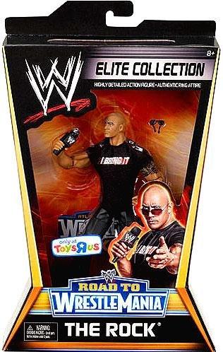【WWE エリート ELITE 6インチ 限定 [WM27] ザ ロック】     b005wwys5o