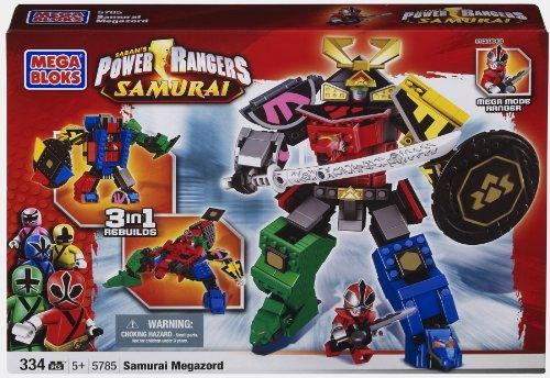 【Mega Bloks Power Ranger Samurai MegaZord】     b005vq79m0