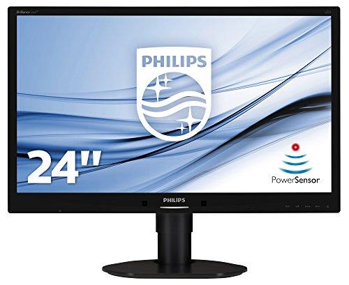 【送料無料】【Monitor Philips LED 24\\'\\' 241B4LPYCB Full HD  DVI  5ms  speakers  black】     b006lbcob0