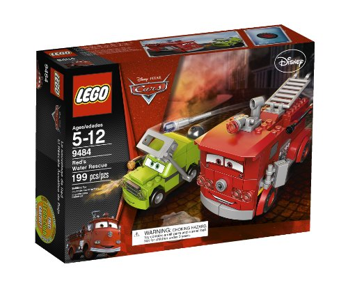 【LEGO Cars Red's Water Rescue 9484】     b005vprfiy