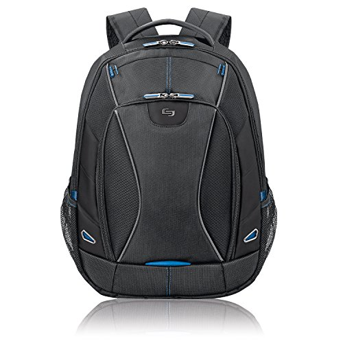 【Solo Active 17.3 Laptop Backpack. Black  TCC703-4/20 by SOLO】     b00684lai8