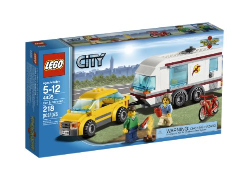【LEGO City Town Car and Caravan 4435】     b005vprduy