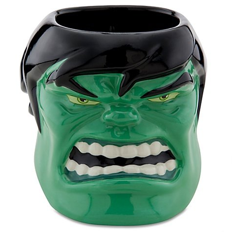 【Disney Sculptured Incredible Hulk Mug Marvel Comics Three-dimensional Brand New by Disney】