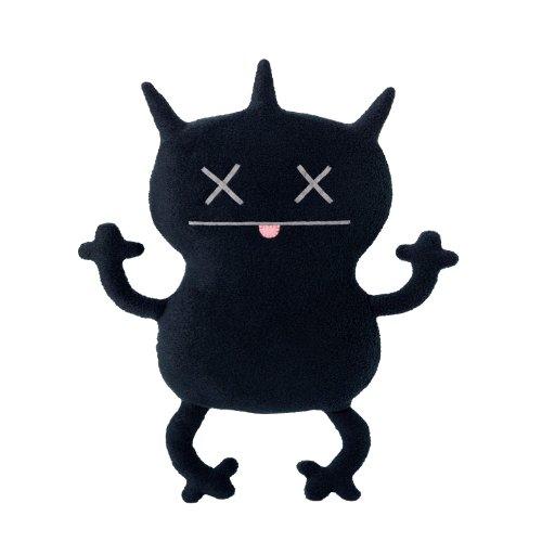 【Ugly Doll Classic Plush Doll  12  Gassy Black by Uglydoll】