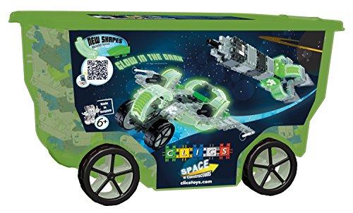 【[クリックス]Clics TOYS Space Rollerbox Toy  400Piece CB413 [並行輸入品]】     b007mmipi8