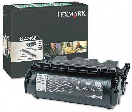 【Lexmark Black Toner Cartridge (12A7462) - by Lexmark】