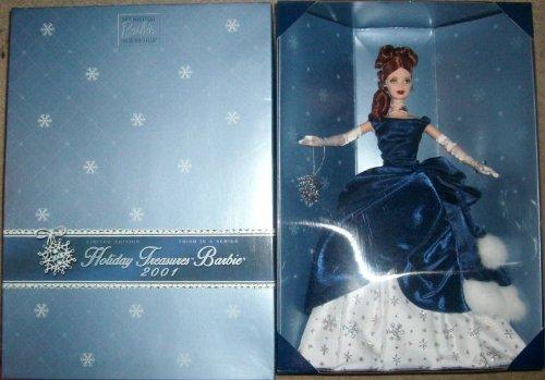 【Holiday Treasures Barbie 2001?Collector 's Club Exclusive】     b007zqxz5o