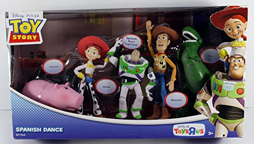 【Disney / Pixar Toy Story Exclusive Action Figure Gift Pack Spanish Dance】     b007d61eng