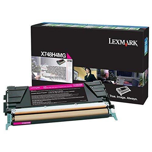 【Lexmark - High Yield - magenta - original - toner cartridge LRP - for X748de  748dte】     b008nuamno