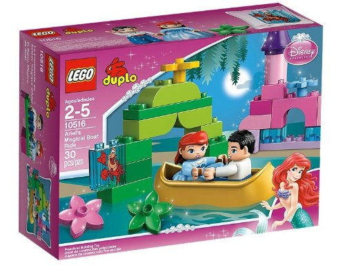 【レゴ (LEGO) デュプロ アリエルの魔法のボート 10516】     b0094j3flo
