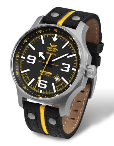 【vostok-europeメンズnh35?a / 5655196日本クイック設定自動日付腕時計】     b00btyhn60