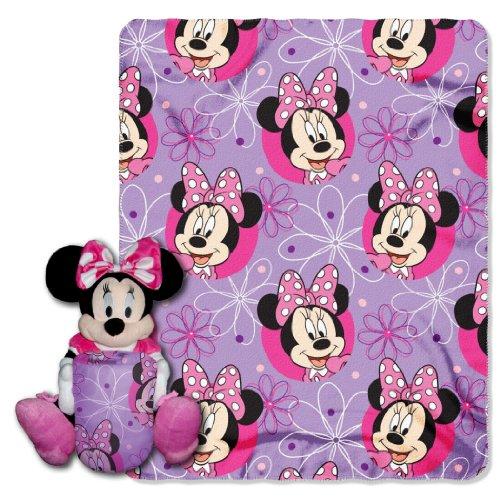 【送料無料】【Hugger & Throw Sets - Disney - Minnie Mouse - Bowtique 40x50  New Blanket】     b00cbddk9c