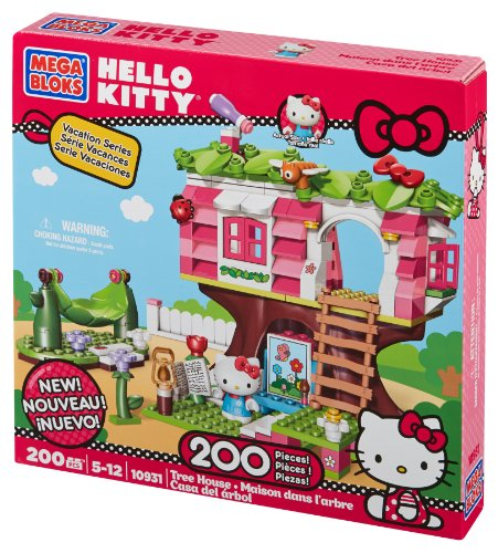 【送料無料】【Mega Bloks Hello Kitty Treehouse】     b00cl15uq0