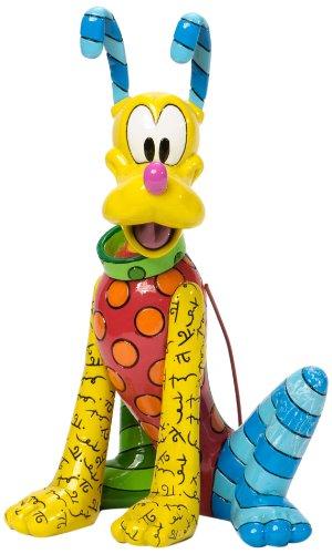【Enesco Disney by Britto Pluto Figurine 8.25-Inch/ロメロブリット/ディズニー/プルート/フィギュア/[並行輸入品]】     b00f9tid38