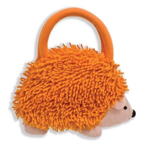 【North American Bear Company Hedgehog Goody Plushバッグ、オレンジ】     b00edl7cn0
