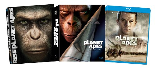 【The Planet of the Apes Collection [Blu-ray]】     b00f9czywi