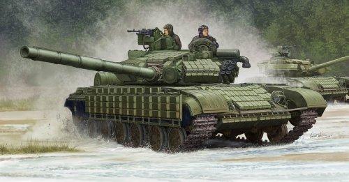 【トランペッター 1/35 ソビエト軍 T-64BV 主力戦車 Mod.1985】     b00hv6kaqu