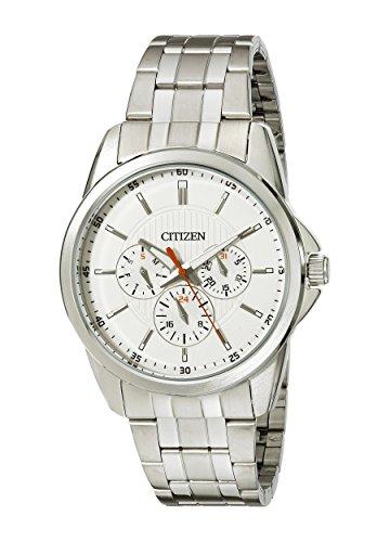 【[シチズン]Citizen 腕時計 Quartz Stainless Steel MultiFunction Beige Dial Watch AG8340-58A メンズ [逆輸入]】     b00kq1v106