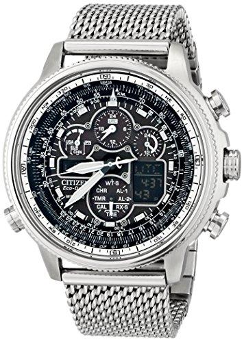 【[シチズン]CITIZEN 腕時計 NAVIHAWK A-T ECO-DRIVE ナビホーク エコドライブ 電波時計 JY8030-83E メンズ [逆輸入]】     b00kcf86sg