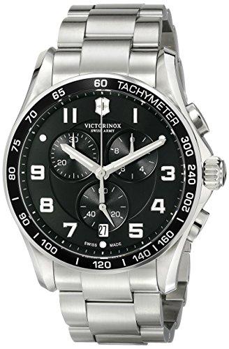 【Victorinoxメンズ241650?Chrono Classicアナログ表示SwissクオーツSilver Watch】     b00it1ybos