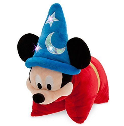 【Disney Parks Exclusive Sorcerer Mickey Mouse Light Up 24?  Plush Pillow Pal】     b00n1bxer6