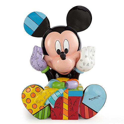 【Enesco(エネスコ) Disney by Britto Mickey Birthday Figurine 4043279 [並行輸入品]】     b00mxsiydm
