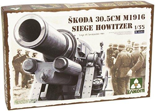 【TAKOM 1/35 シュコダ 30.5cm M1916 攻城用臼砲 セバストポリ1942】
