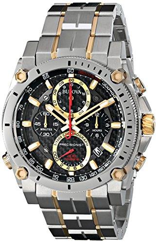 【BULOVA ブローバ 98B228 Precisionist メンズ 腕時計 【並行輸入品】】